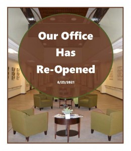 Office Reopened 2021.6